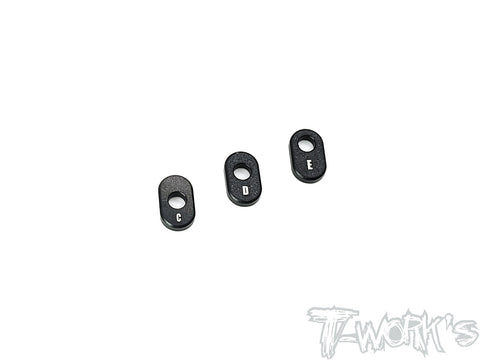 TA-142-B	Adjustable 7075-T6 Alum. Servo Horn C/D/E Spacer