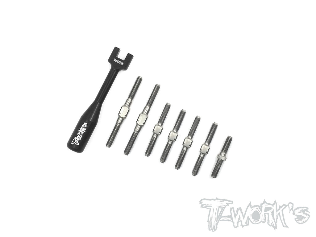 TB-129 64 Titanium Turnbuckle Set For ARC R11 2017
