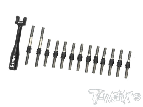 TB-135H Hybrid Titanium Turnbuckle Set ( For Awesomatix A800X )