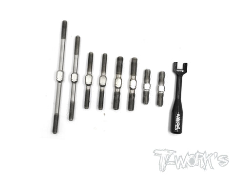 TB-137 64 Titanium Turnbuckle Set For Kyosho Inferno GT2