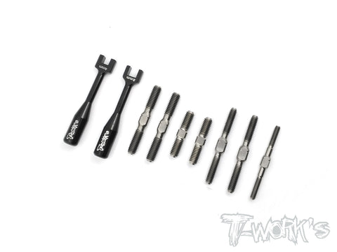 TB-138  64 Titanium Turnbuckle Set ( For Kyosho Inferno GT2 Spec R )
