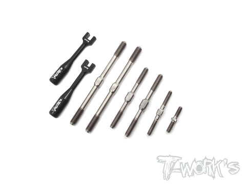 TB-143 64 Titanium Turnbuckle Set ( For Xray GTX 2017 )