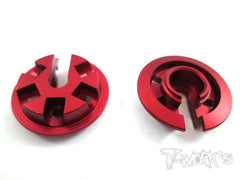 TE-097 Aluminium Damper Retainer with Adjustable Nut For 15mm Spring only ( VBC WildFire D06 )