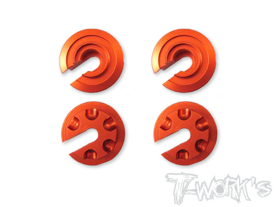 TE-098 Aluminium Damper Retainer ( For Serpent S411 Eryx 2.0)