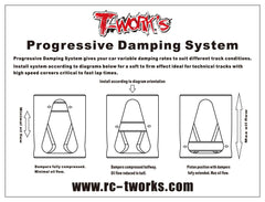 TE-132-T4'16 Progressive Damping System Set ( For Xray T4'16 & T4'15 )
