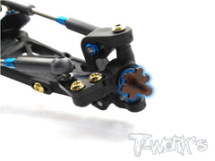 TE-153-S  Spring Steel Light Weight Front Axle ( Team Associated RC10 B6/B6D )