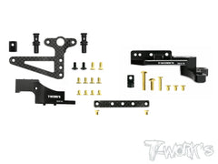 TE-165 7075-T6 Alum. Motor mount And Floating Servo Mount Combo Set ( For Yokomo BD8 )