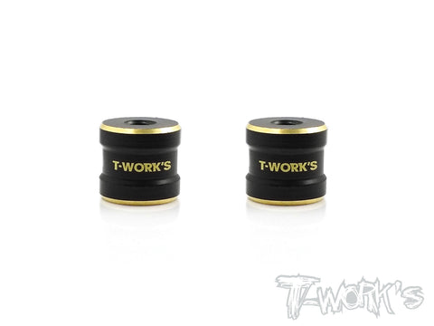 TE-173 Brass Rear Stiffener bushing 3.5g ( For Serpent SDX4 ) 2pcs.