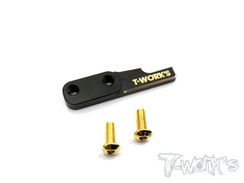 TE-177-B Brass Battery Backstop ( For Xray T4 )