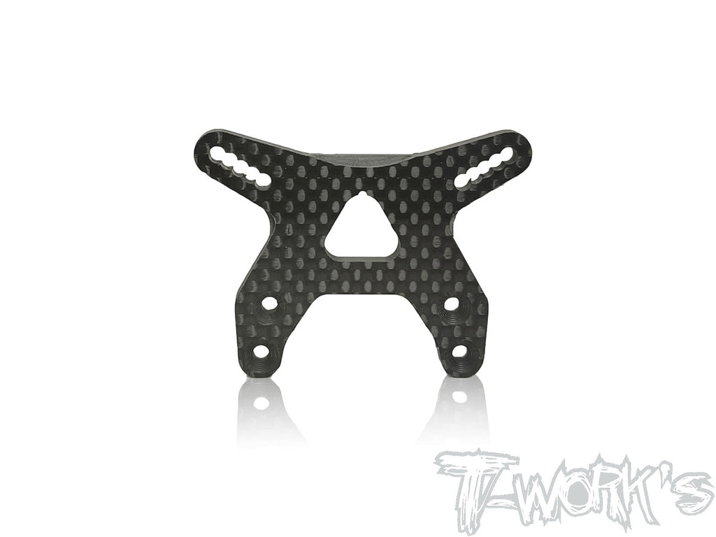 TE-182-B6.2 Graphite Front Shock Tower ( For Team Associated RC10 B6.2/B6.2D/B6.1/B6.1D )