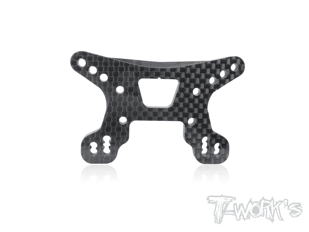 TE-182-B64 Graphite Front Shock Tower ( For Team Associated RC10 B64/B64D )