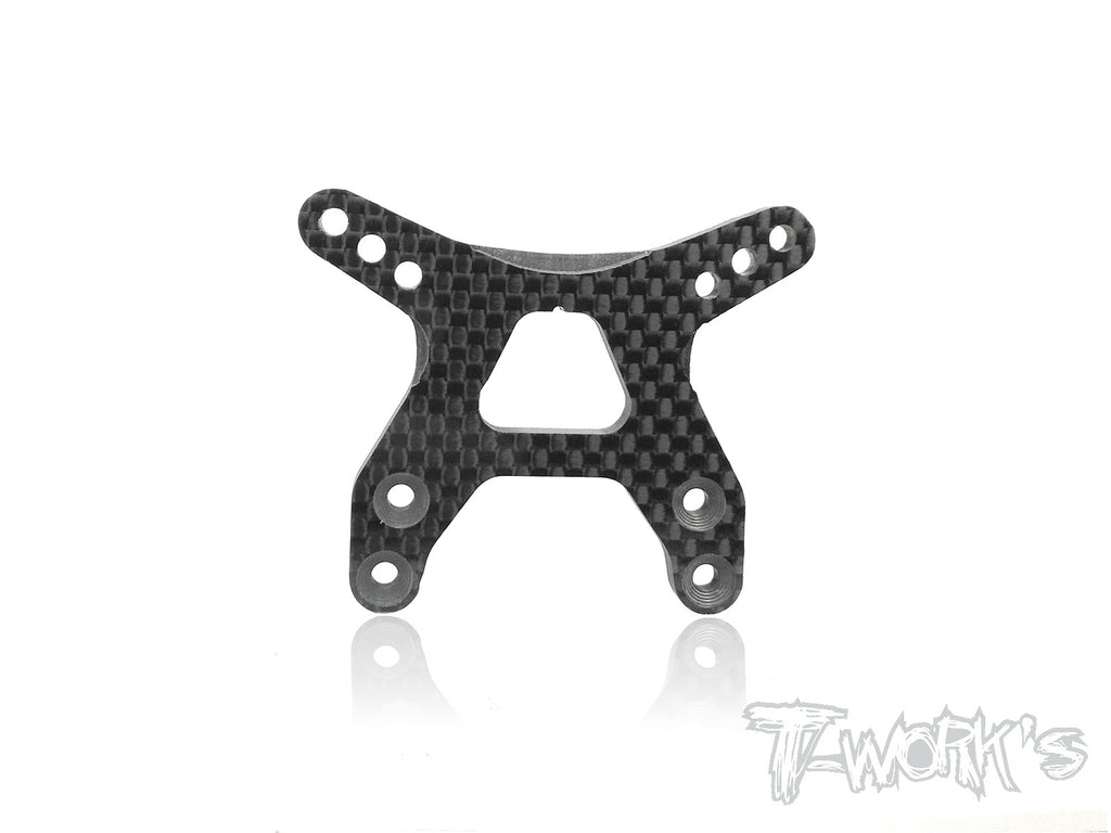 TE-182-B6D Graphite Front Shock Tower ( For Team Associated RC10 B6D )