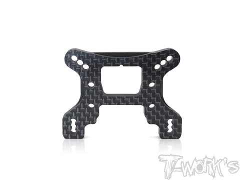 TE-182-B74 Graphite Front Shock Tower ( For Team Associated RC10 B74 )
