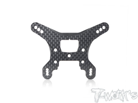 TE-183-B74 Graphite Rear Shock Tower ( For Team Associated RC10 B74 )