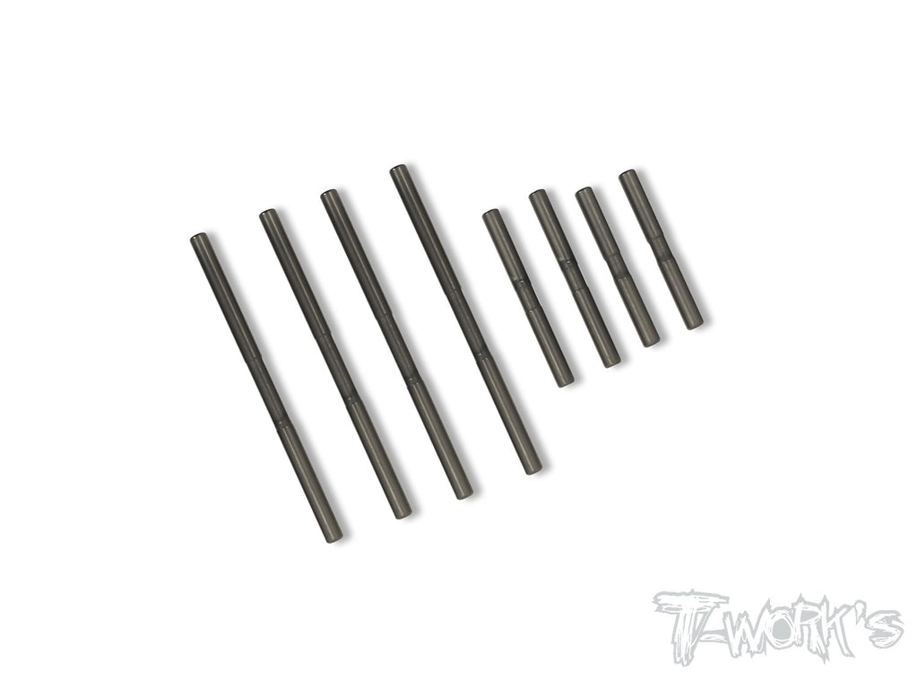 TE-199-410 DLC coated Suspension Pin Set ( For TEKNO EB410 )