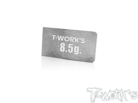 TE-207-C	Adhesive Type 8.5g Tungsten Balance Weight  ( For Xray T4'20  )