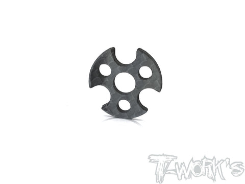 TE-208 Graphite Spur Gear Plate ( For Xray T4 / Yokomo BD9  )