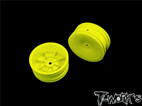 "TE-218-A 2.2"" 12mm Hex  Front Wheels ( For B6.1/6.2/RB5/RB6/RB7/YZ2/XB2 )"