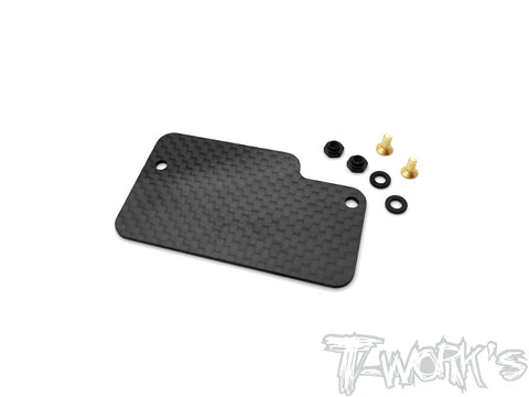 TE-223-TLR Graphite Electronics Mounting Plate ( For TLR 22X-4/TLR 22 Ver.3 )