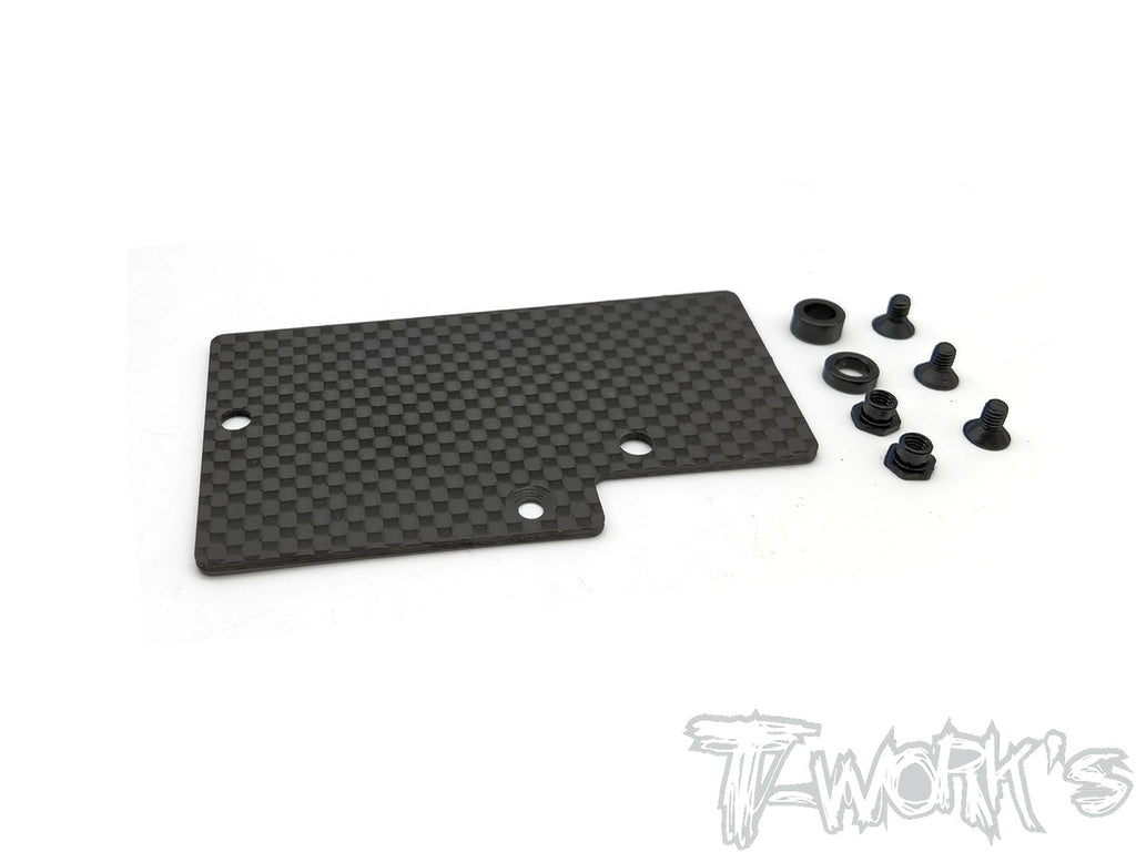 TE-223-XB4'21 Graphite Electronics Mounting Plate ( For Xray XB4'21 )