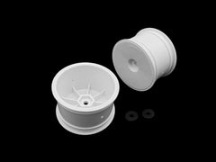 "TE-226-B 2.2"" 12mm Hex Rear Wheel White ( For Xray XB4'20/TLR22X-4 )IFMAR 2019 Approve"
