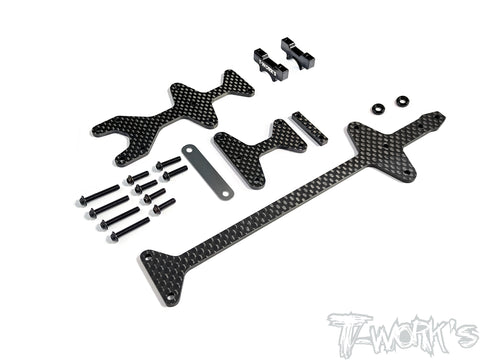 TE-232 Upper Deck Conversion Kit ( For HB Racing D418 )