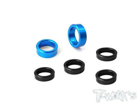 TE-TC01-B Driveshaft Bearing Spacer  ( For Tamiya TC-01 )