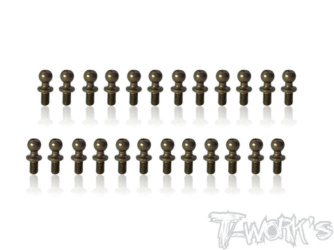 TE-TC01-E 7075-T6 Hard Coated Alum.Ball End Set ( For Tamiya TC-01 )  24pcs.
