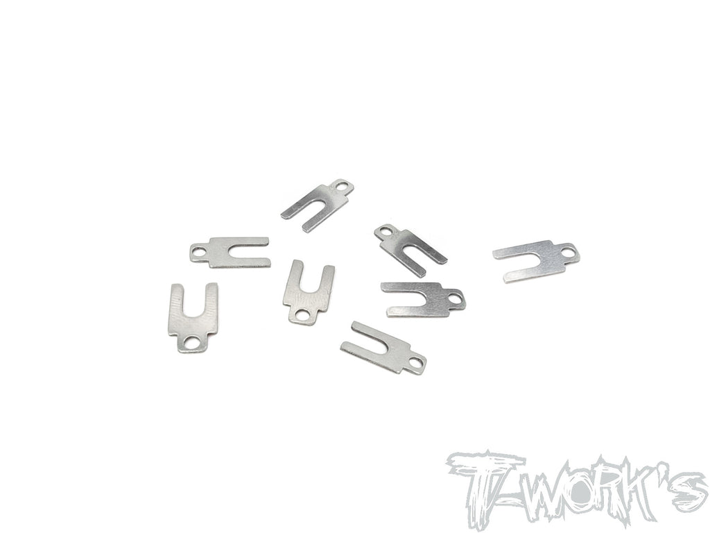 TE-TC01-F Suspension Mount Adjust Spacer 0.5mm (  For Tamiya TC-01/M07 ) 8pcs.