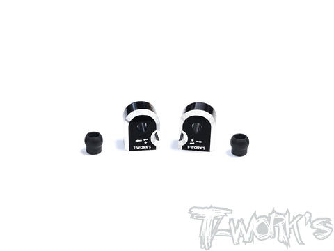 TE-TC01-H1 Alum. Suspension Mount +1 ( For Tamiya TC-01/M07) 2pcs.