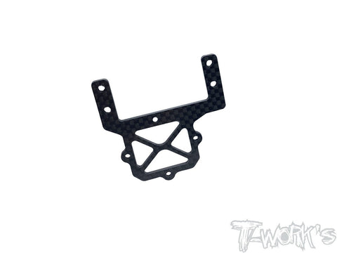 TE-TC01-J Graphite Servo And Transponder Plate( For Tamiya TC-01 )
