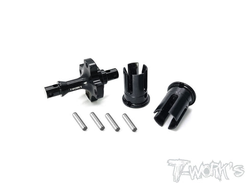 TE-TC01-K Alum. Front Spool ( For Tamiya TC-01 )