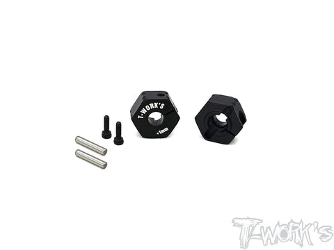 TE-TC01-M+1	Clip 12mm Wheel Adapter +1mm ( For Tamiya TC-01 ) 2pcs.