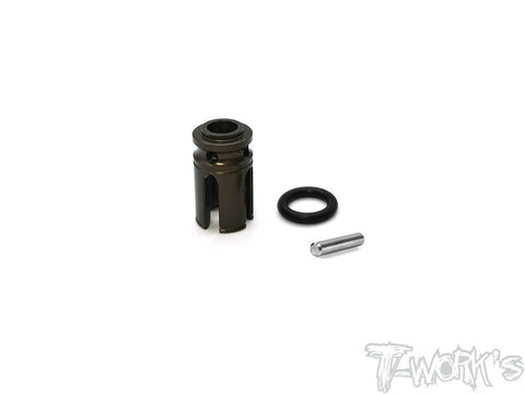 TE-TC01-N 7075-T6 Hard Coated Alum. Center Cup (  For Tamiya TC-01 )