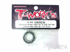 TG-045 Precision Ceramic Bearing 14.2x25.3x6.3mm ( Engine Rear Bearing ) for Orion Engines