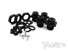 TO-052 Wheel Adapters 17mm Complete kit ( For OFNA SCRT10/ NEXX-10 )