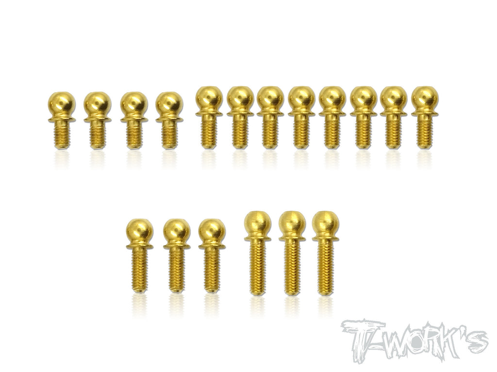 TN-001-T417  Titanium Nitride Ball End set ( For Xray T4'17 )