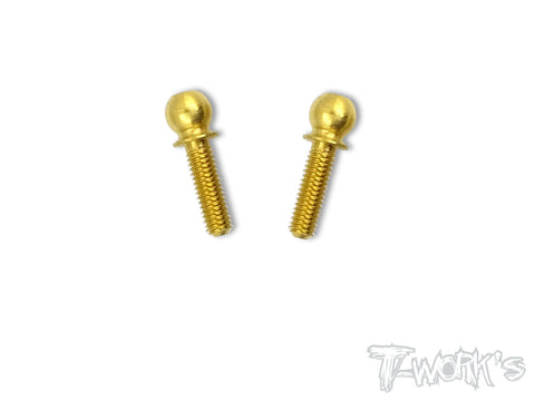 TN-T4 Titanium Nitride 4.9 Ball End ( For Xray T4 ) 2pcs.