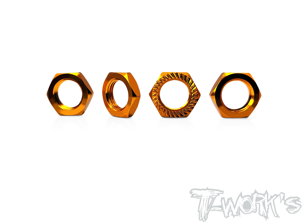 TO-049O Self-Locking Wheel Nut P1 (Orange)