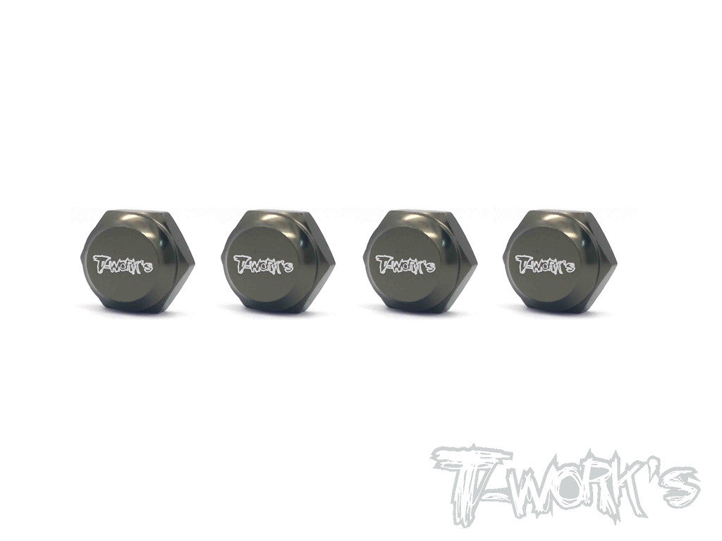 TO-051 Self-Locking Wheel Nut With Cover P1.25  ( For HN, Jammin, Hobao, OFNA )