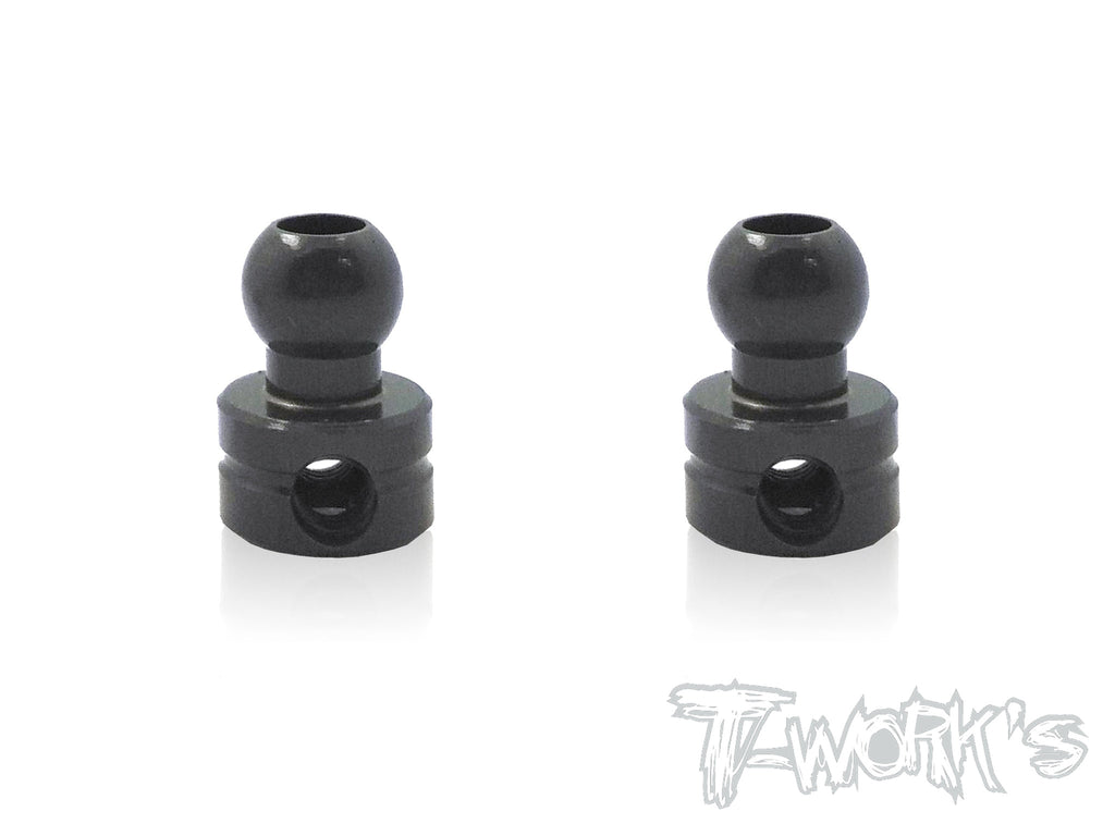 TO-104-B  7075-T6 Hard Coated Alum.Anti-roll Bar Ball  ( For  Hong Nor & OFNA X3/X3E Sabre,IGT8) 2pcs.
