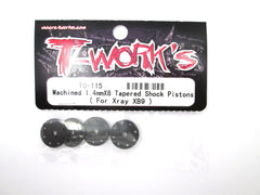 TO-115 Machined 1.4mmX8 Tapered Shock Pistons( For Xray XB9)
