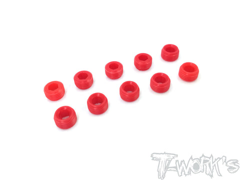TO-134-X  POM Front Upright Adjust Nut Spacers 10pcs.( For Xray RX8/NT1)