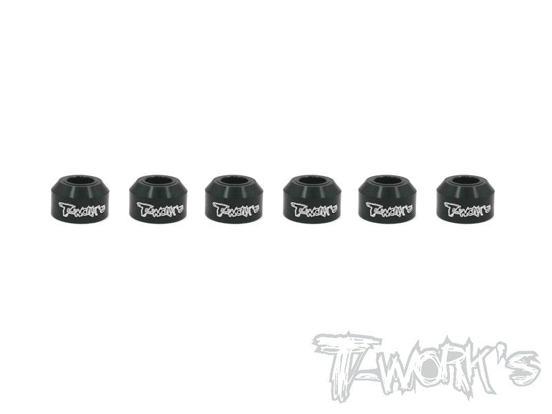 TO-162 Alum. Drive Shaft Safety Collar 6pcs. ( For Xray XB4 )