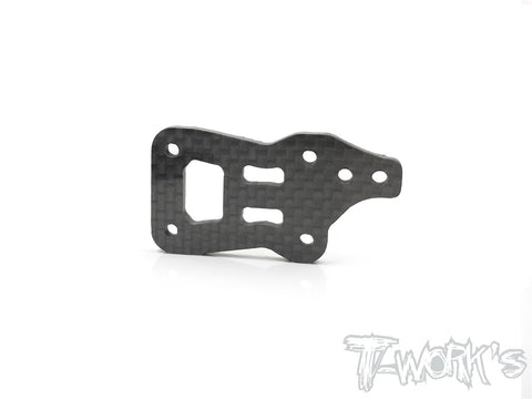 TO-209-EVC Graphite Center Gearbox Plate ( For Kyosho MP9E EVO)
