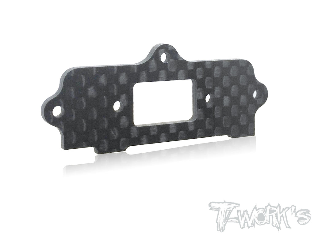 TO-209-S Graphite Switch Plate ( For Kyosho MP9 TKI3/ TKI4/ GT3/MP10 )