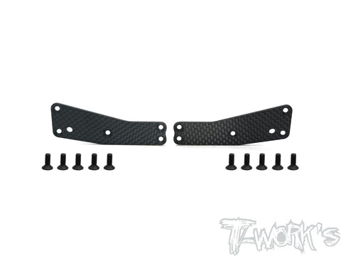 TO-246-T3.2-UF1.5	Graphite Front Upper A-arm Stiffeners 1.5mm ( For Team Associated RC8 T3.2 )