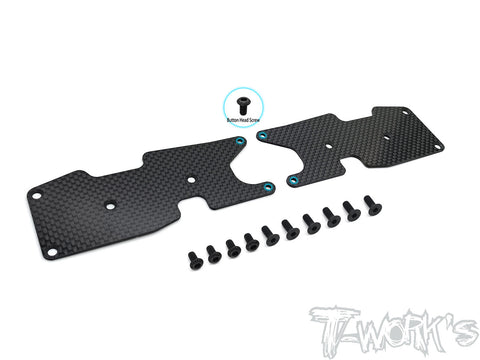 TO-246-T3.2-R1.5	Graphite Rear A-arm Stiffeners 1.5mm  ( For Team Associated RC8 T3.2 )