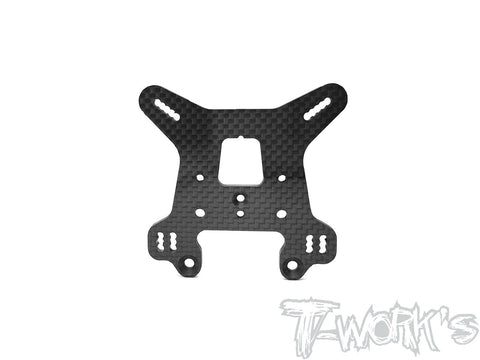 TO-247-B3.2-R Graphite Rear Shock Tower 4mm ( For Team Associated RC8 B3.2 )
