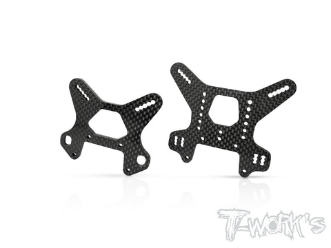 TO-247-MBX8 Graphite Shock Tower 4mm ( For Mugen MBX8 )